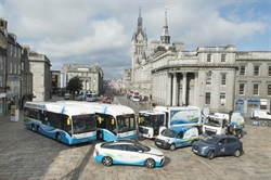 Aberdeen's green transport fleet attracting international attention