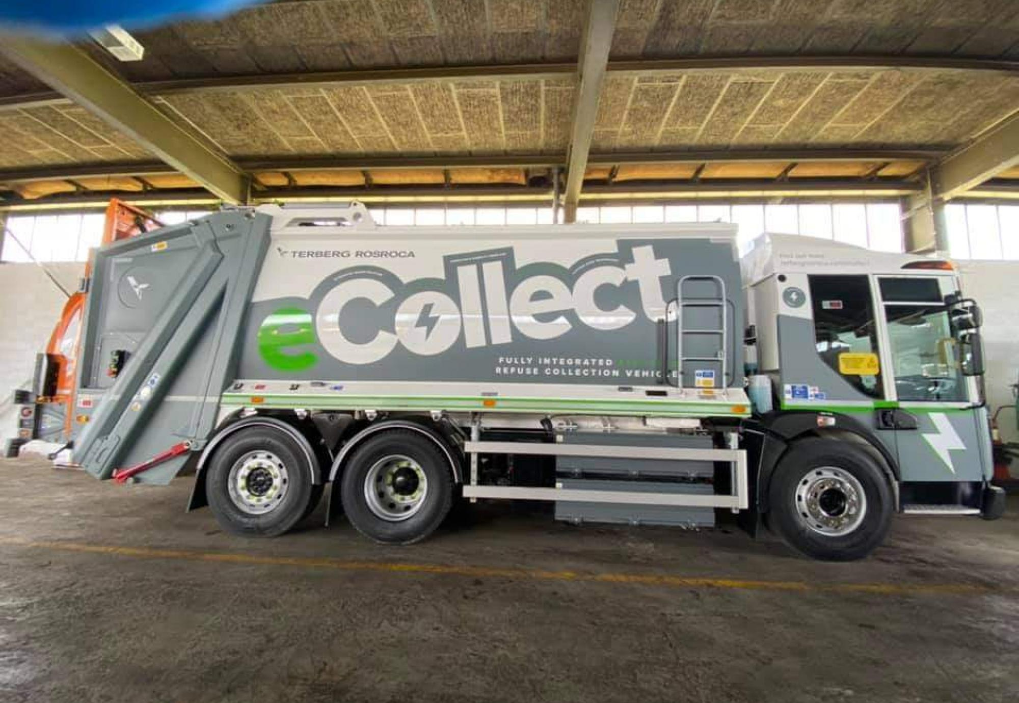 ODS electric refuse vehicle