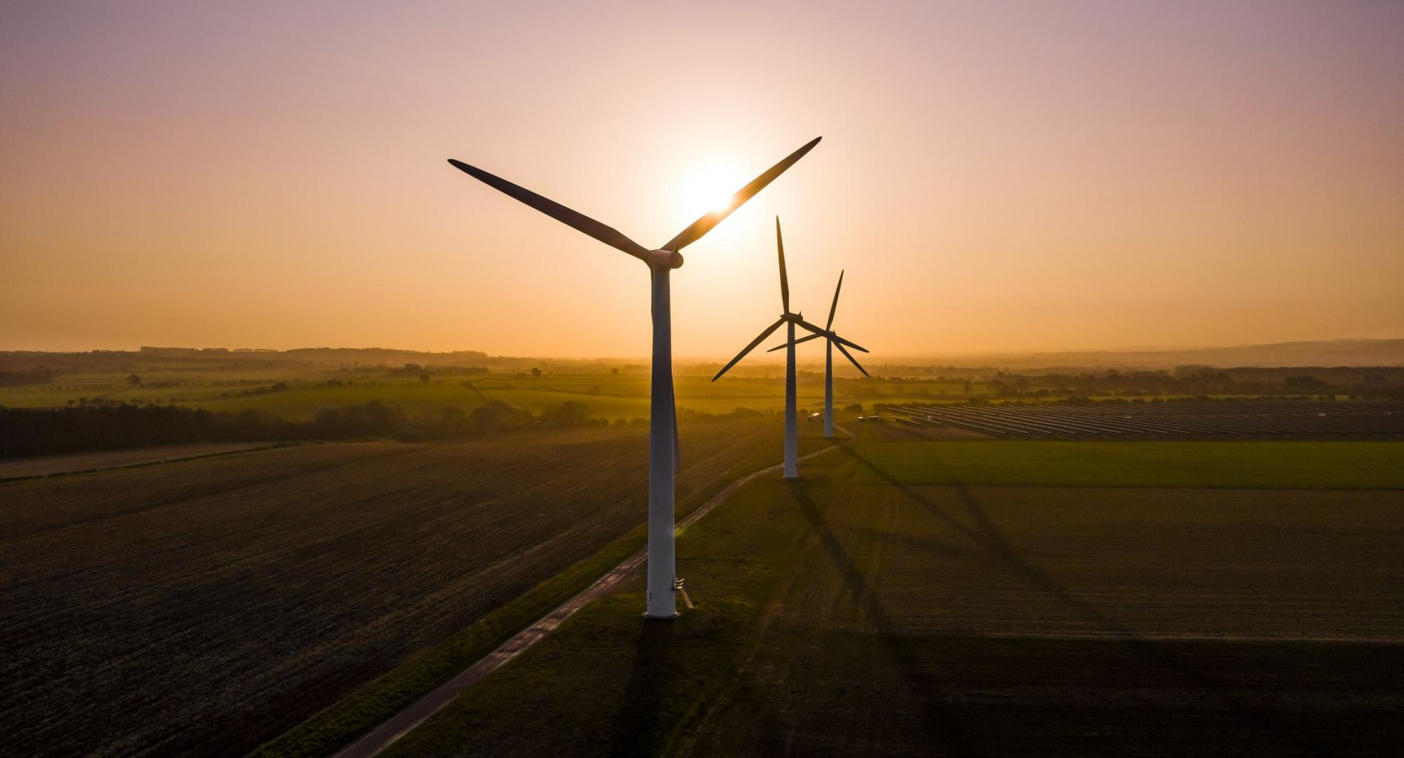 Plans to make the UK world leader in green energy announced