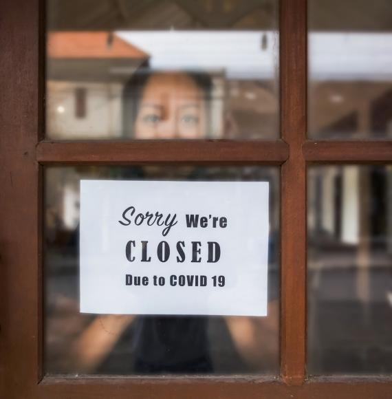 Restaurant closed due to Covid restrictions.