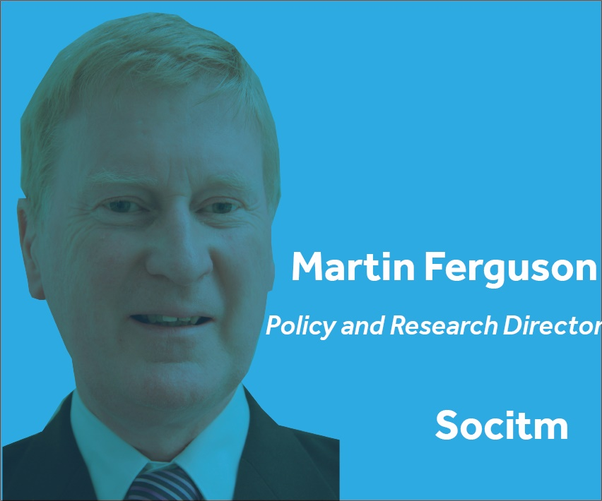 Martin Ferguson Policy and Research Director Socitm