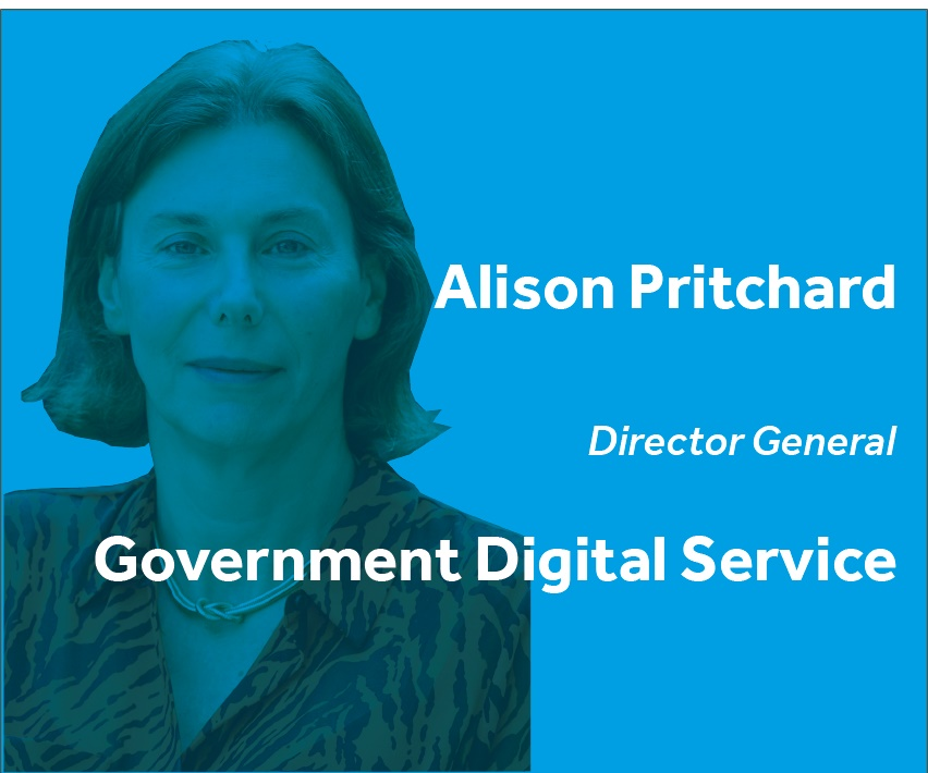 Alison Pritchard Director General Government Digital Service