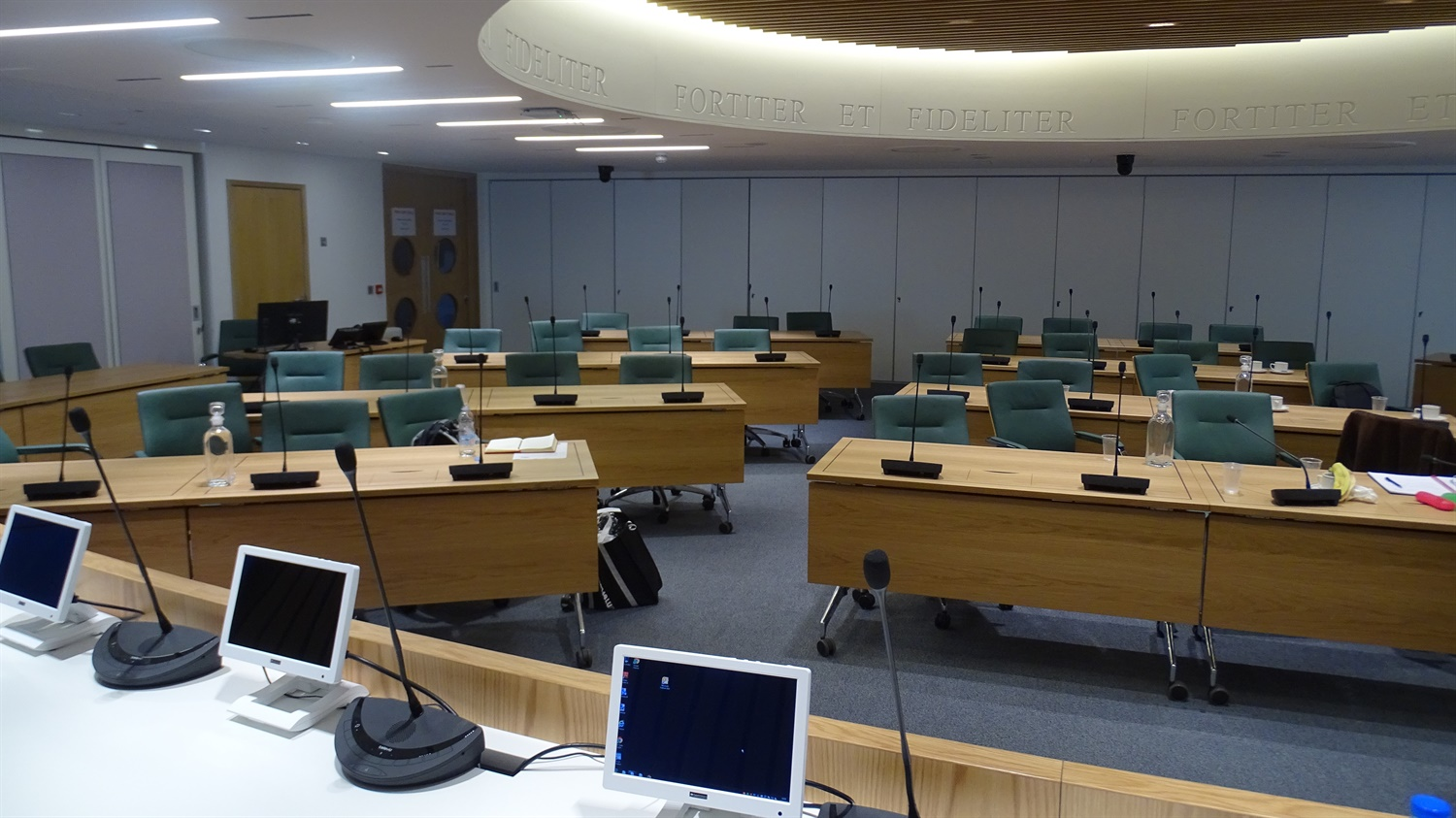 Guildford Borough Council Chamber
