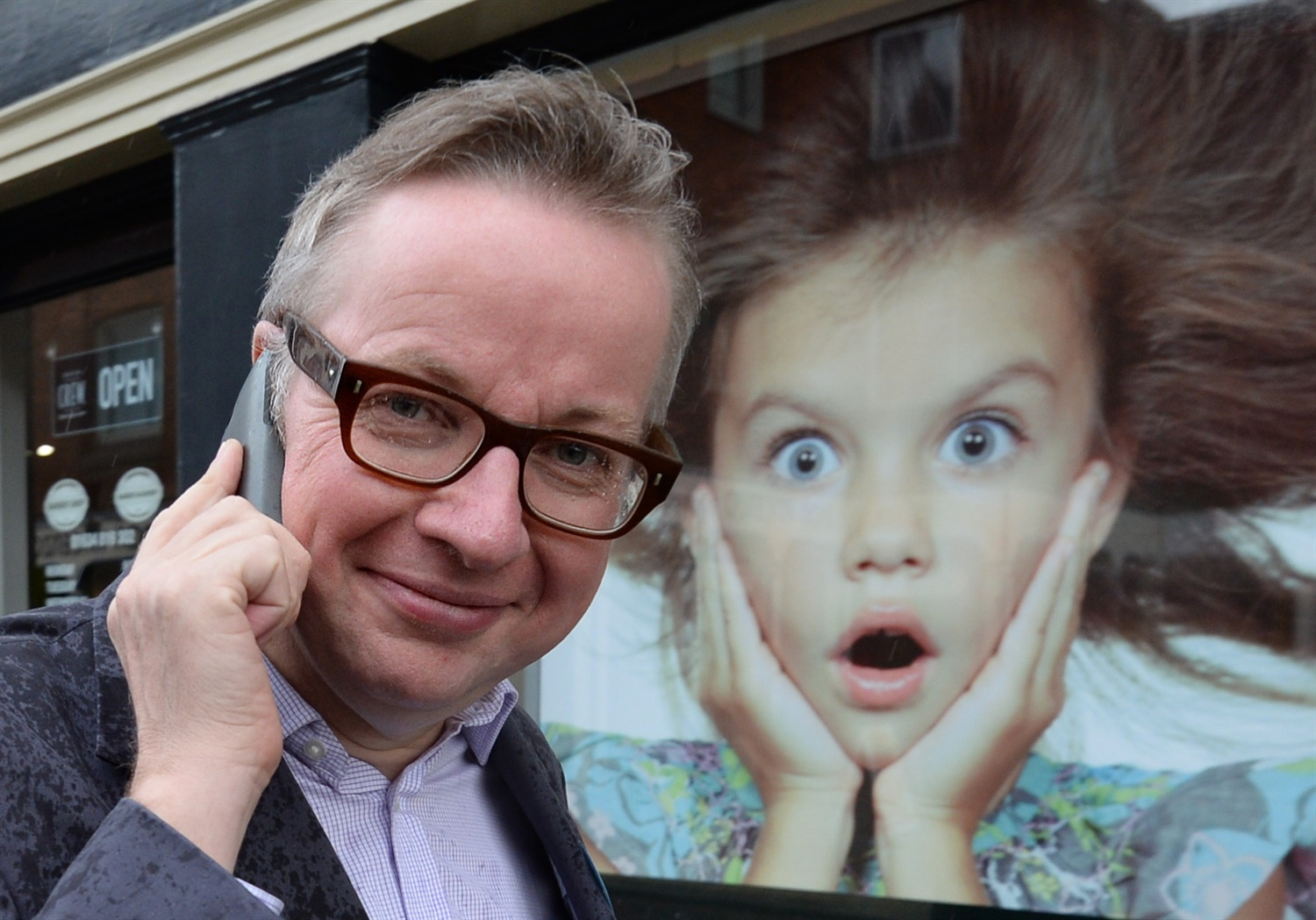 Michael Gove, during Rochester by-election